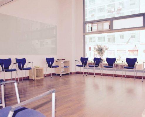 centro de psicología sala formación 1