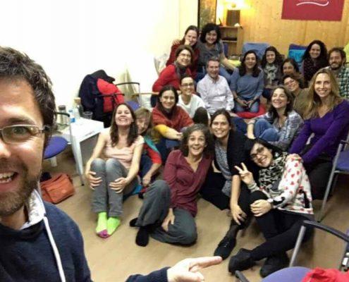 taller de psicoterapia integrativa con Richard Erskine asistentes 2