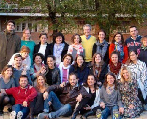 taller de psicoterapia integrativa con Richard Erskine asistentes 3